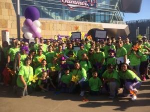 Walk to End Alzheimer's, 2015, Eagan Pointe Senior Living, Eagan, MN